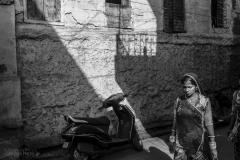 Fragments de villes : Johpur - Inde. Stephan Norsic  photoqraphe