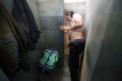 © Stephan NORSIC/IP3, France, Paris. Cornel aux bains douches de la Butte aux cailles (13eme arrondissement).