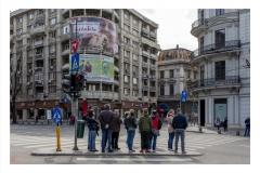 Roumanie - Regard sur Bucarest - Ceausescu plu trente - Stephan Norsic  photoqraphe