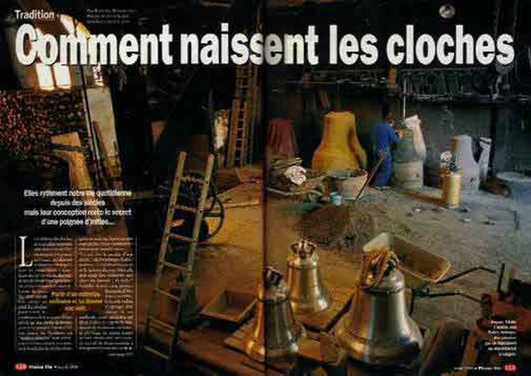 Pleine vie : reportage magazine, rubrique tradition.