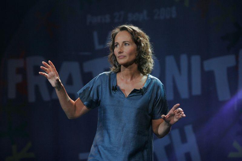 """Paris (75) : Ségolène Royal lors du """"rassemblement de la Fraternité"""" au Zénith (27/09/08)"""