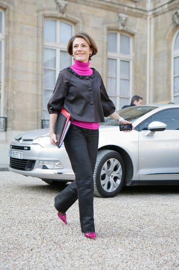 Chantal JOUANNO, Secretaire d Etat chargee de l Ecologie Credit Norsic/face to face