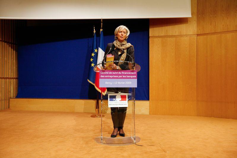 Christine LAGARDE, ministre de l Economie, de l Industrie et de l Emploi