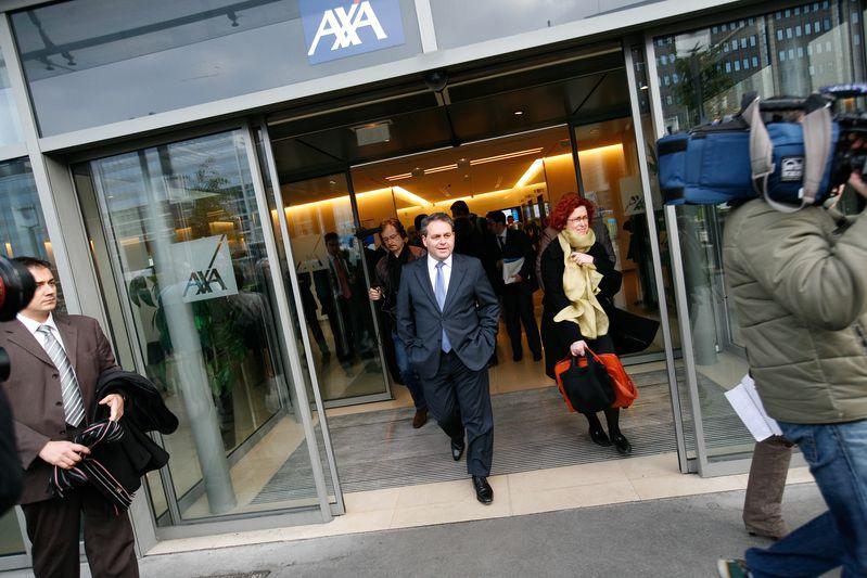 Visite de l entreprise AXA (02/12/08) Credit Norsic/face to face