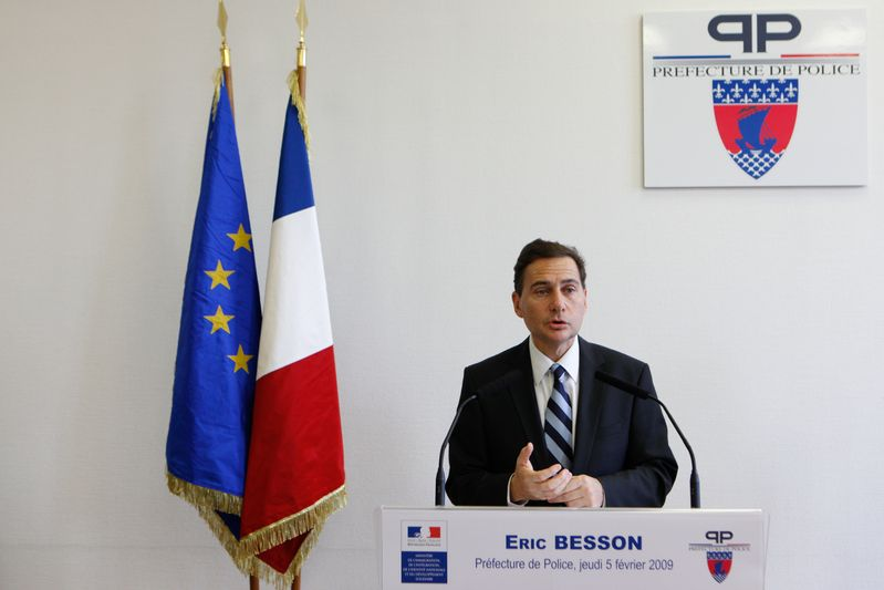 Eric BESSON, ministre de l Immigration, de l Integration, de l Identite nationale et du Developpement solidaire