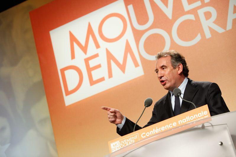 Francois Bayrou, president du Modem.