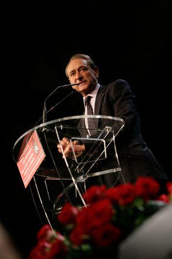 Cergy-Pontoise (95) : meeting politique en présence de Bertrand Delanoë et François Hollande(16/09/08)