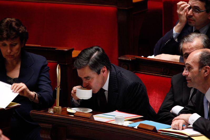 Francois Fillon, premier ministre (//) Credit Norsic/face to face