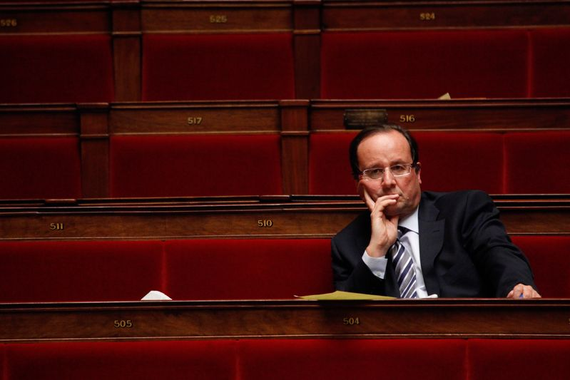 Francois Hollande, depute socialiste (27/01/09) Credit Norsic/face to face