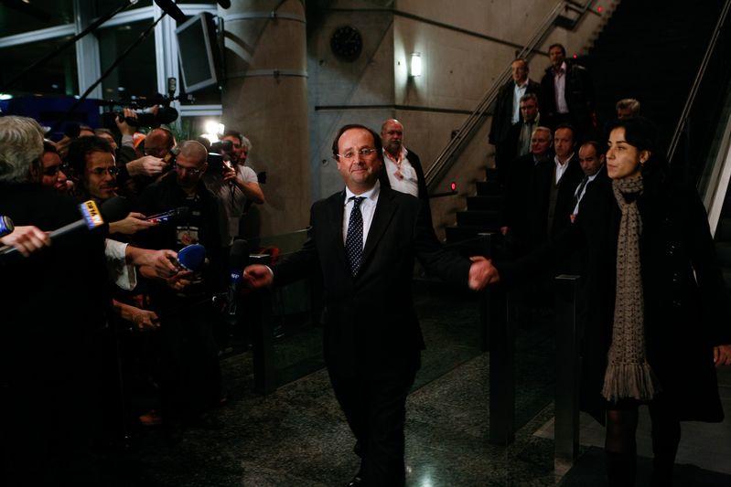 Reims (51) : François Hollande lors du congrès du PS (16/11/08)