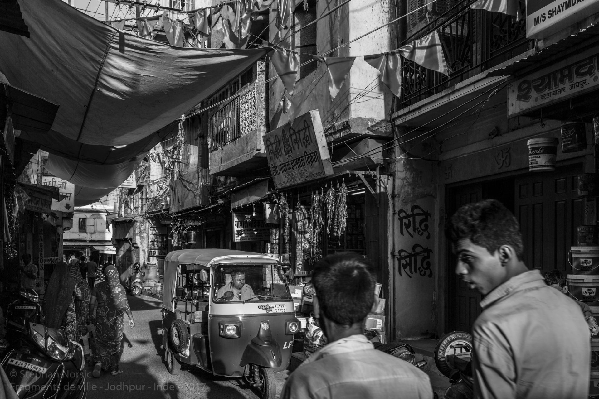 Fragments de ville : en Inde