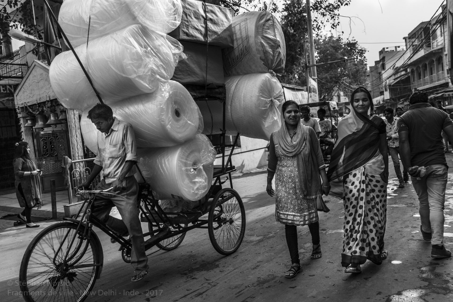 Fragments de villes : New Delhi - Inde. Stephan Norsic  photoqra