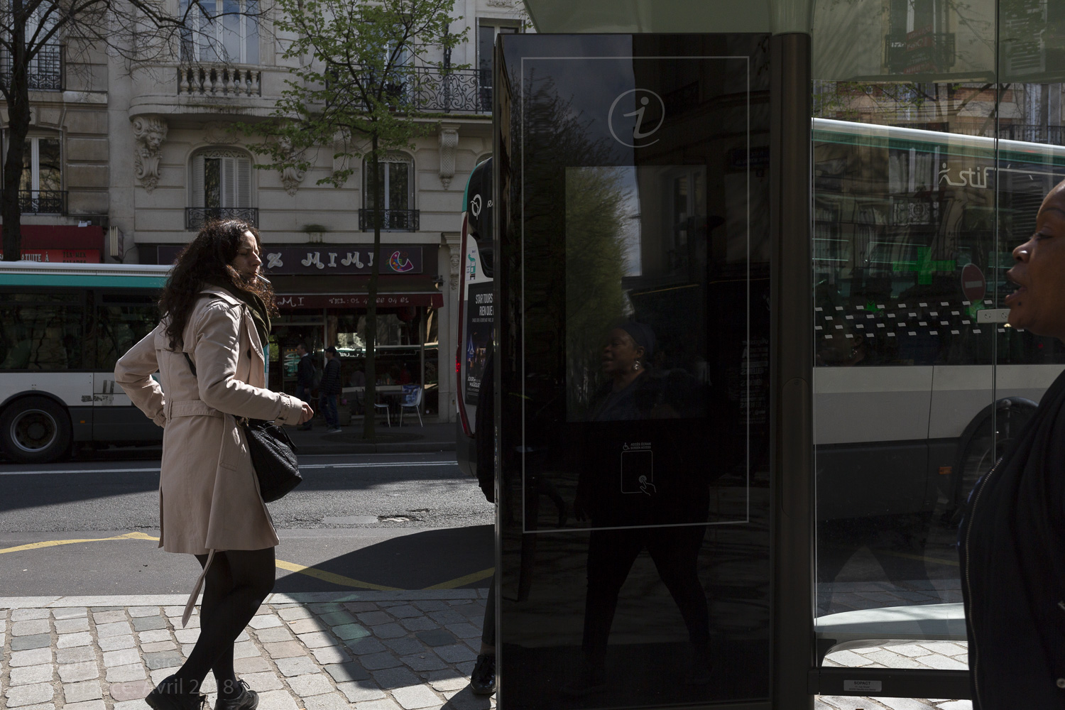Streetphotography, photo de rue. Paris. France.